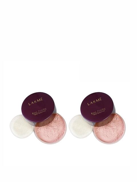Lakme Set of 2 Lakme Rose Powder With Sunscreen
