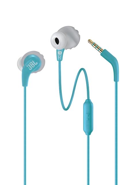 JBL Unisex Teal Endurance RUN Sports Wired Headphones