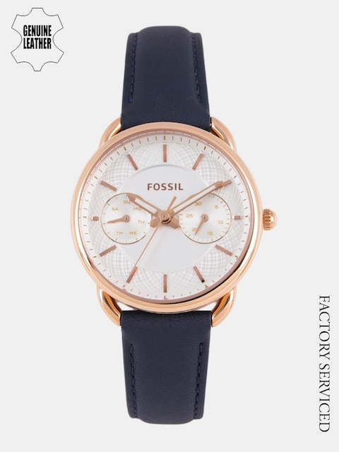 Fossil Women Silver-Toned Analogue Watch ES4260I_Factory_Serviced