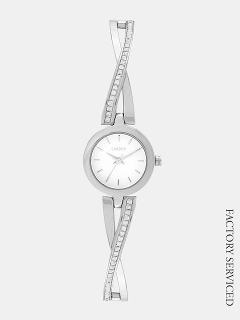 DKNY Women Silver-Toned Factory Serviced Analogue Watch NY2234
