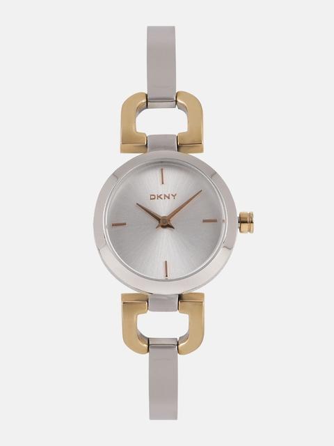 DKNY Women Silver-Toned Factory Serviced Analogue Watch NY2137I