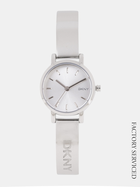 DKNY Women Silver-Toned Analogue Watch NY2306I_Factory_Serviced