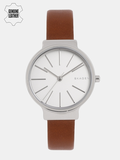 SKAGEN Women Silver-Toned Analogue Watch