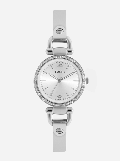 Fossil Women Silver-Toned Analogue Watch ES3225I_OR1