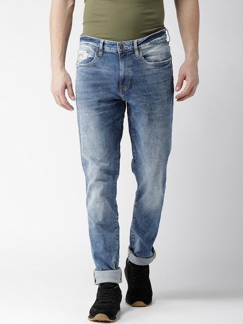 Aeropostale Men Blue Skinny Fit Mid-Rise Clean Look Jeans