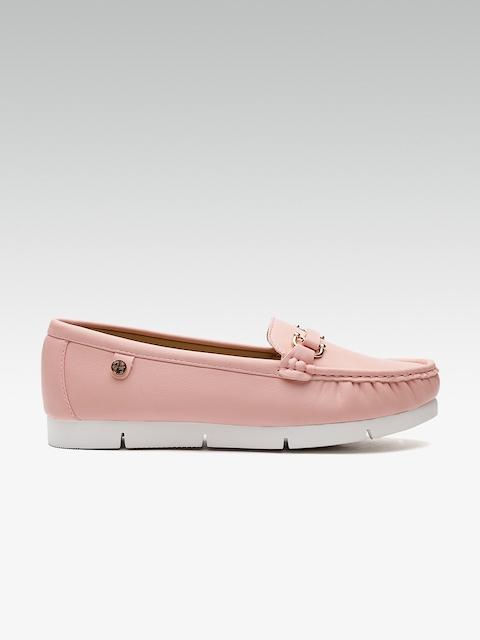 Carlton London Women Pink Loafers