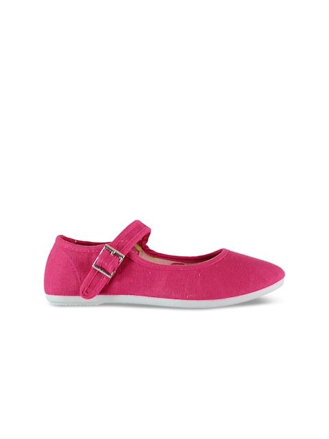 Slazenger Girls Pink Flatforms