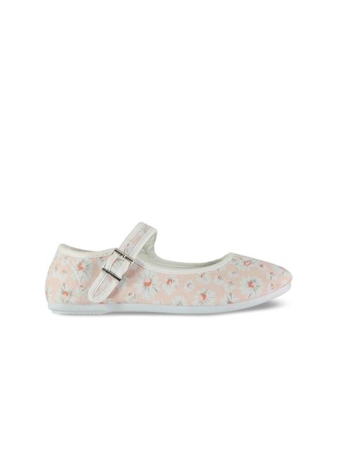 Slazenger Girls Pink & White Flatforms