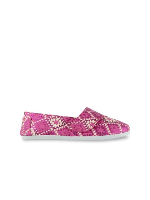 Slazenger Girls Pink Slip-On Sneakers