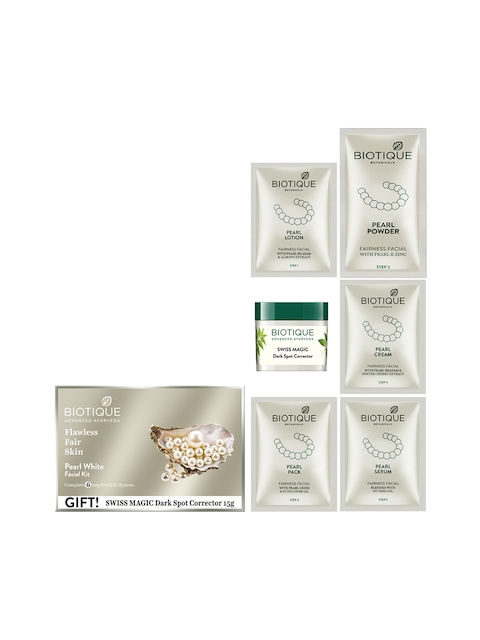 Biotique Women Pearl White Facial Kit 65 g