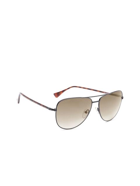 Calvin Klein Unisex Aviator Sunglasses 1218A 372 S