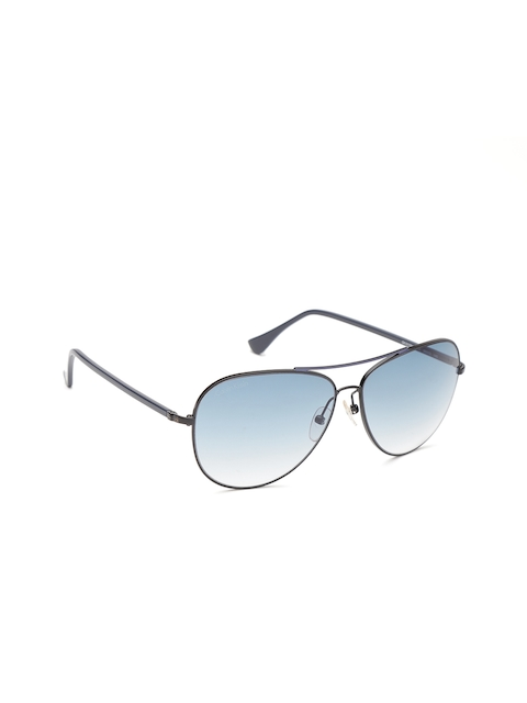Calvin Klein Unisex Aviator Sunglasses CK 1217A 013 60