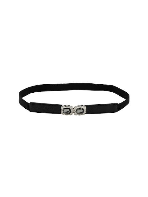 Kazo Women Black Embellished Belt