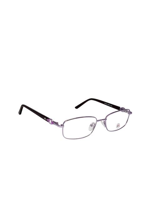 David Blake Women Purple Solid Full Rim Rectangle Frames EWDB1302