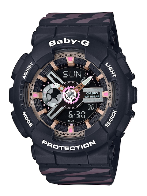 CASIO Women Black Analogue and Digital Watch BX100