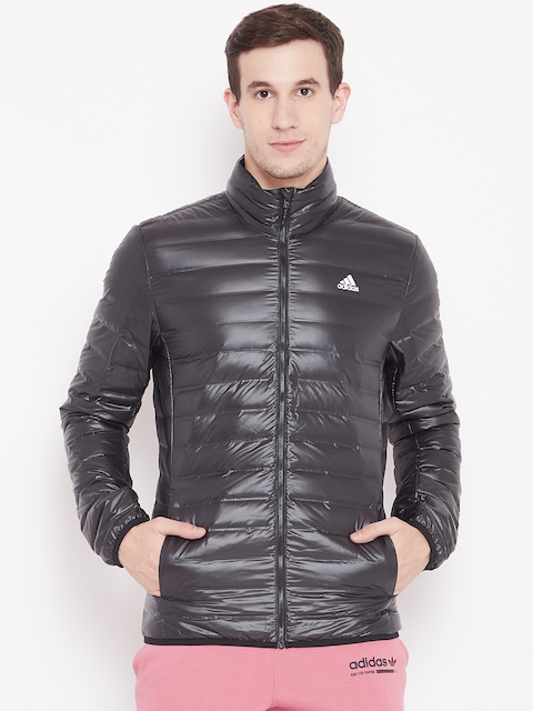 Adidas Men Black Varilite Down Jacket