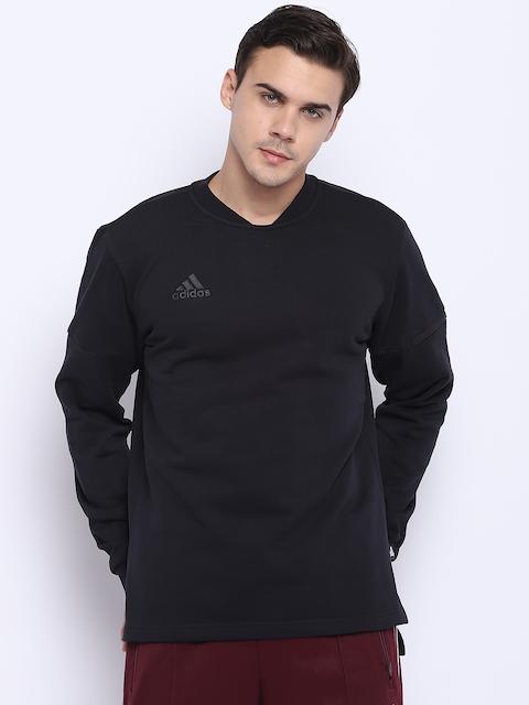 Adidas Men Black Tango SWT JSYLS Football Sweatshirt