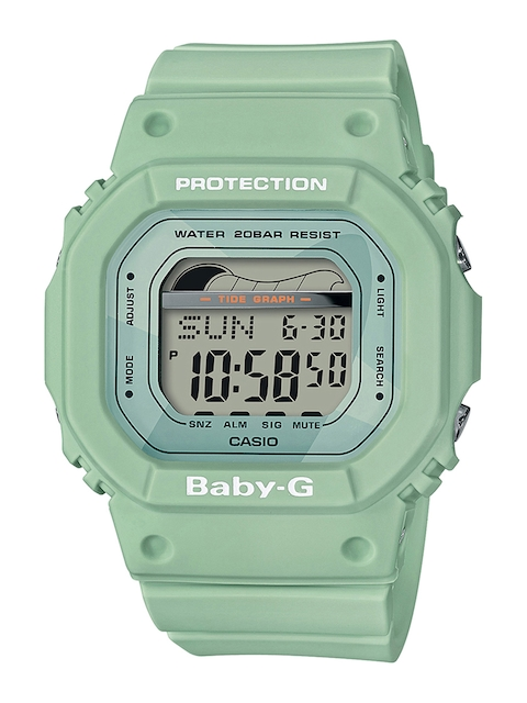 CASIO Women Green Digital Watch BX128