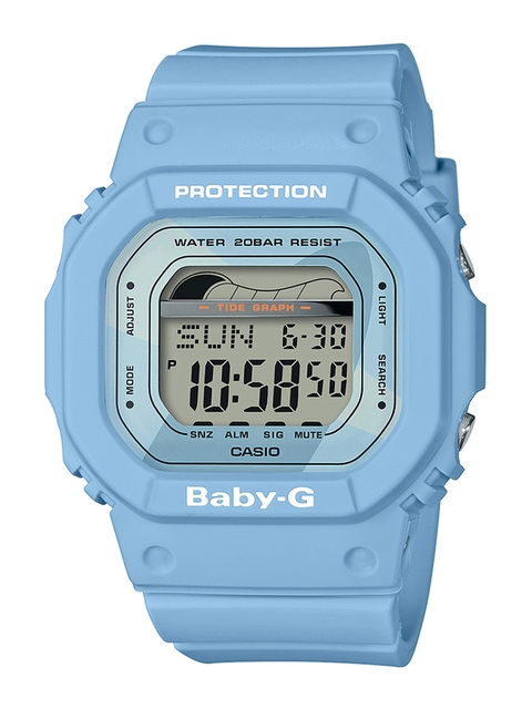 CASIO Women Blue Digital Watch BX127