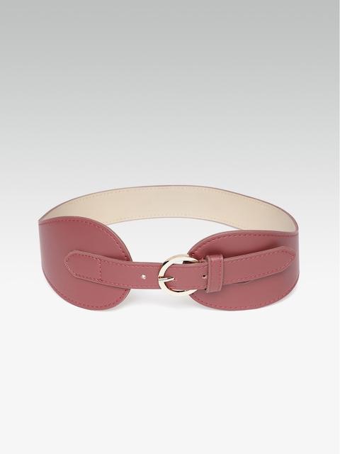 20Dresses Women Maroon Solid Belt