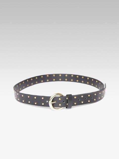 20Dresses Women Black Embellished Belt