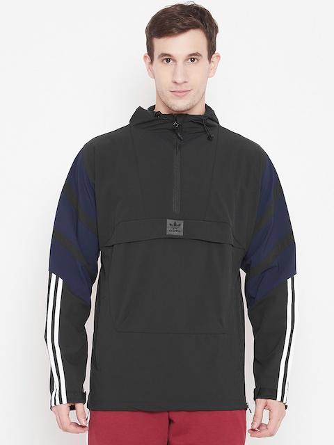 Adidas Originals Men Black 3ST Skateboarding Jacket