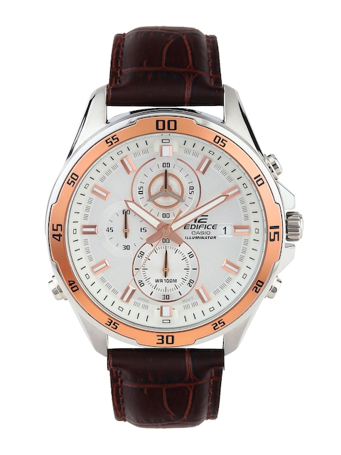 Casio Edifice EFR-547L-7AVUDF (EX242) Chronograph White Dial Men's Watch