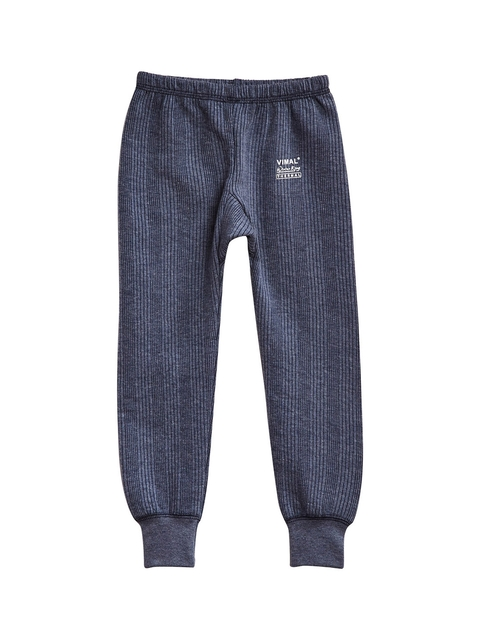 VIMAL JONNEY Girls Navy Blue Thermal Bottoms