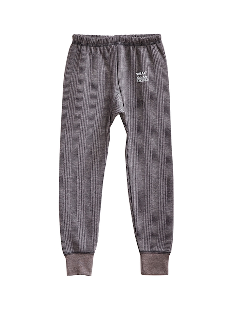 VIMAL JONNEY Boys Grey Thermal Bottoms