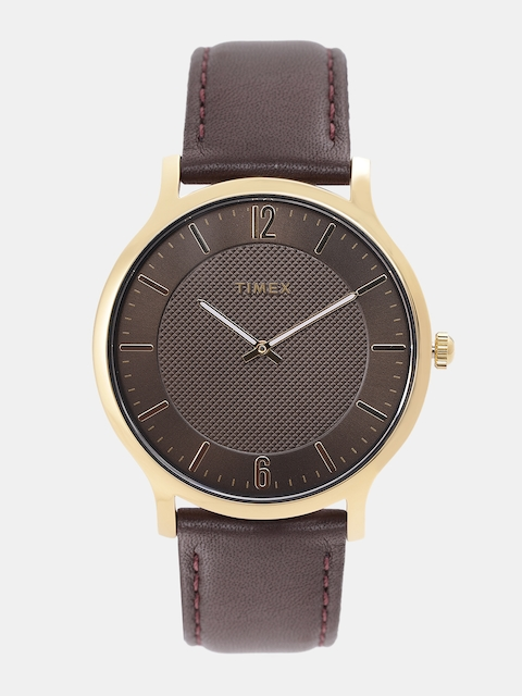 Timex Men Bronze-Toned Analogue Watch TW2R49800