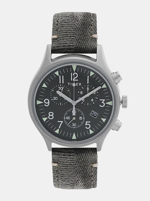 Timex Men Olive Green Analogue Watch TW2R68600