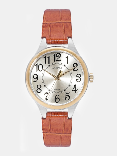 Timex Carriage Women Gold-Toned Analogue Watch C3C401_OR