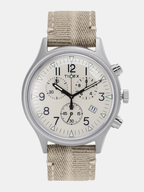 Timex Men Cream-Coloured Analogue Watch TW2R68500