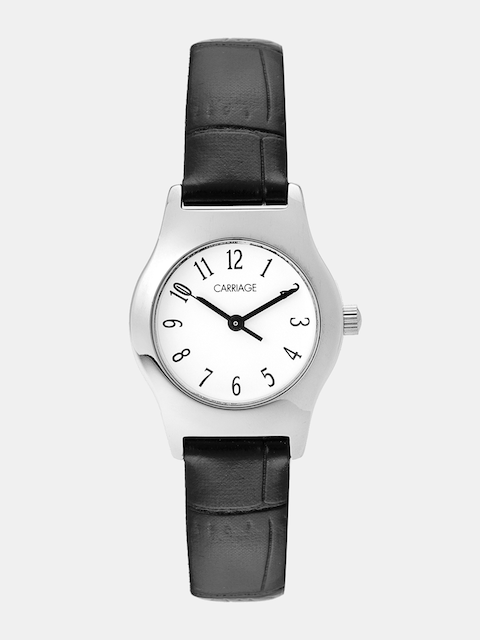 Timex Carriage Women White Analogue Watch C3C364_OR