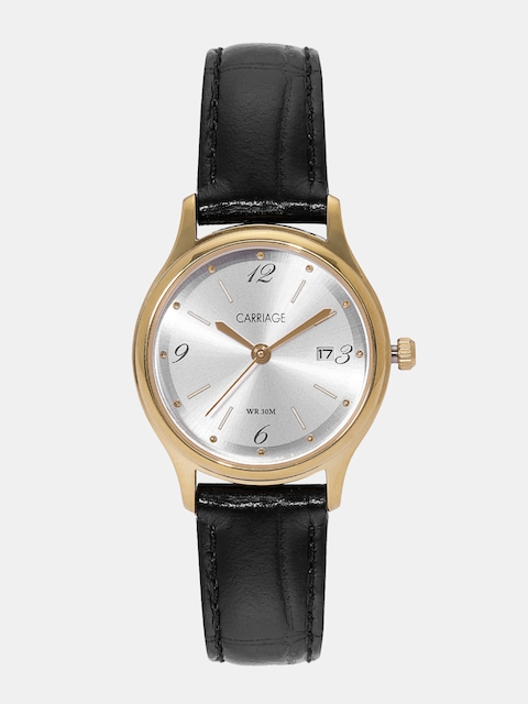 Timex Carriage Women Silver-Toned Analogue Watch CC3C78100