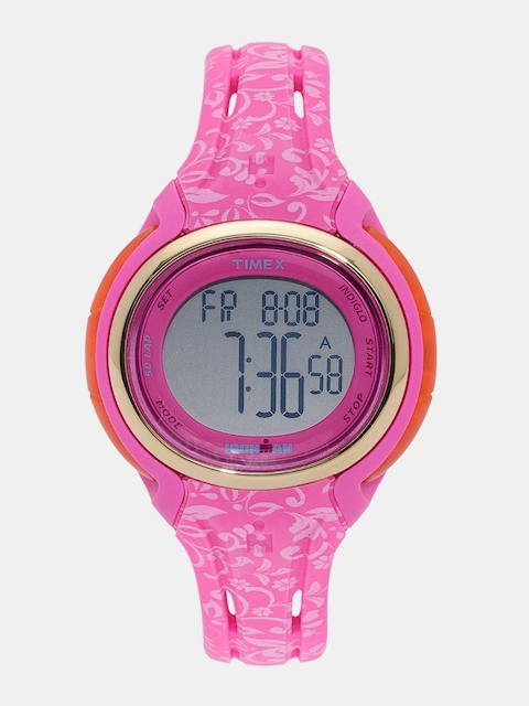 Timex Ironman Women Pink Chronograph Digital Sports Watch TW5M03000