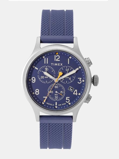 Timex Men Navy Blue Chronograph Watch TW2R60300_OR