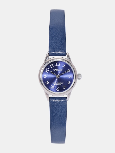 Timex Carriage Women Navy Blue Analogue Watch C2A871_OR