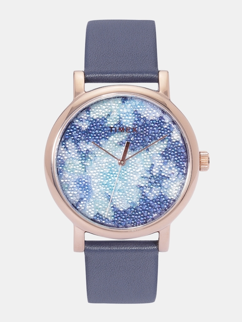 Timex Women Blue Analogue Watch TW2R66400_OR
