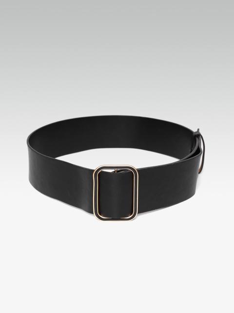 20Dresses Women Black Solid Wide Belt