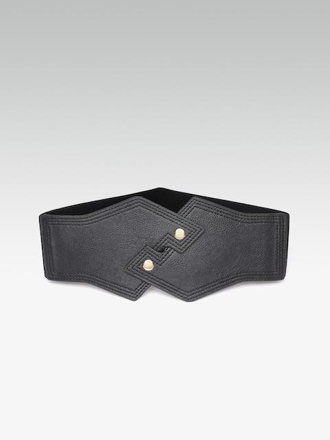 20Dresses Women Black Solid Waist Belt