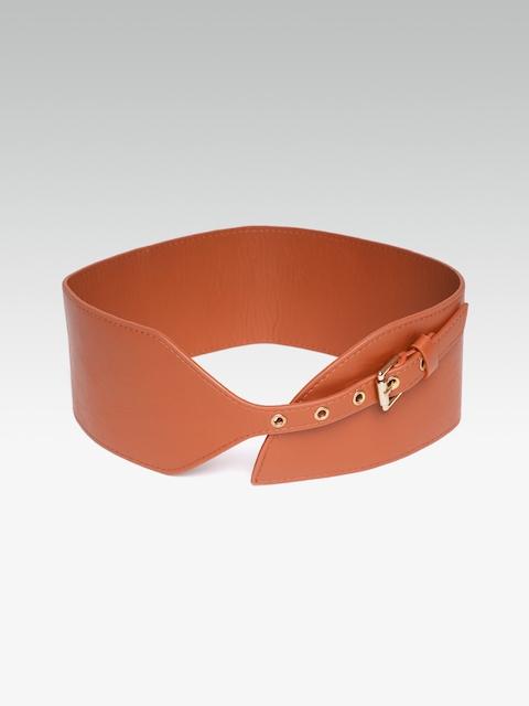 20Dresses Women Brown Solid Waist Belt