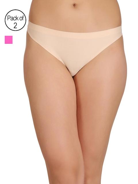 Clovia Women Pack Of 2 Bikini Briefs COMPNC423XL