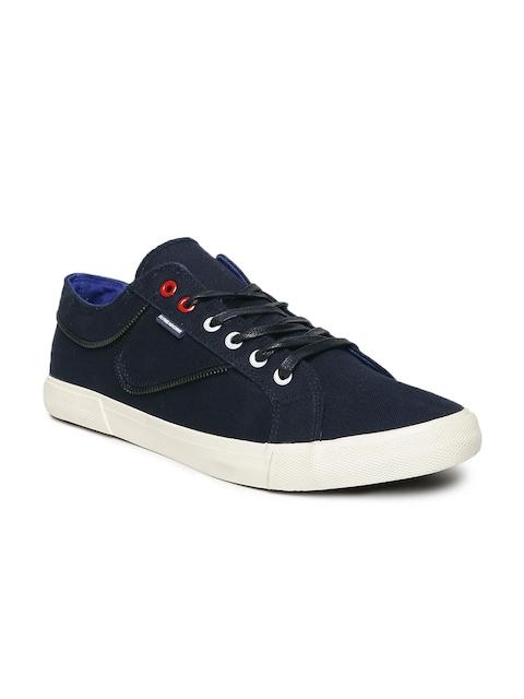 Flying Machine Men Navy Blue Sneakers
