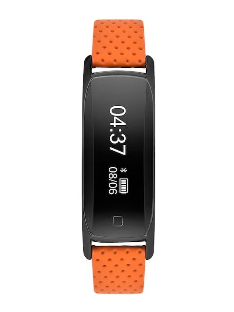 TIMEX Unisex Blink Black & Orange Smart Band TW00SOS06