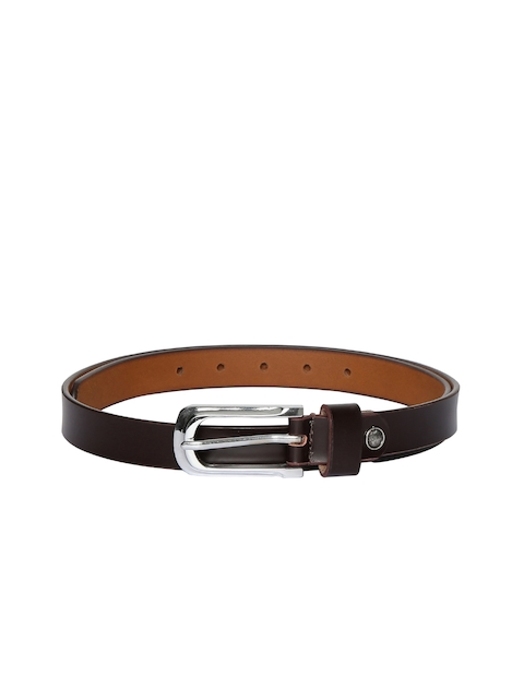 CHISEL Women Brown Solid Leather Belt