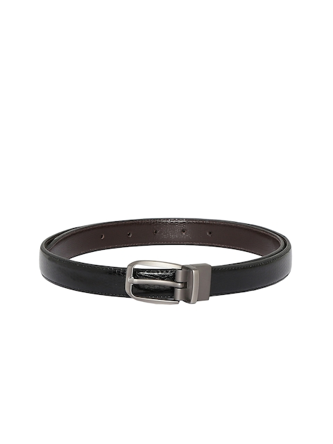 CHISEL Women Black & Brown Textured Reversible Belt