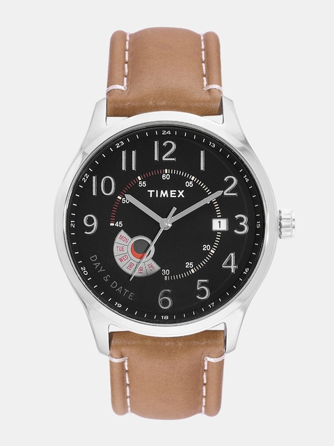 Timex Men Black Analogue Watch TWEG17104