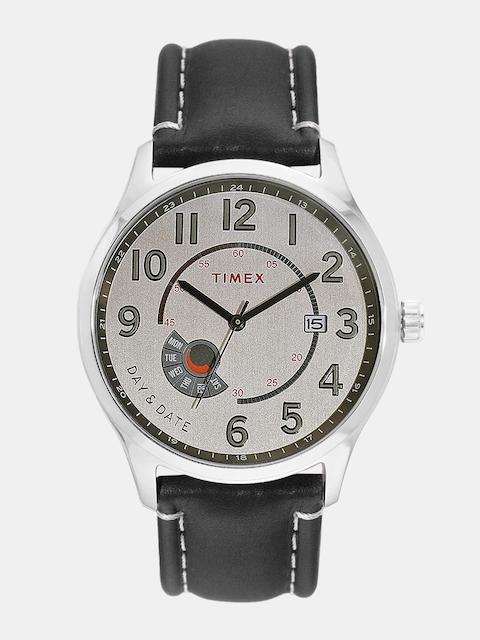 Timex Men Silver-Toned Analogue Watch TWEG17105