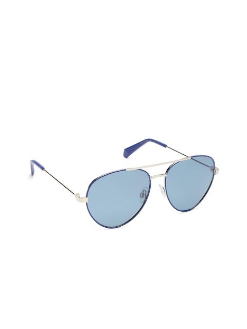 Polaroid Unisex Aviator Sunglasses PLD 6055/S PJP 59C3